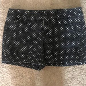 AE polka dotted shorts